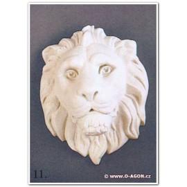 Reliéf - hlava lva