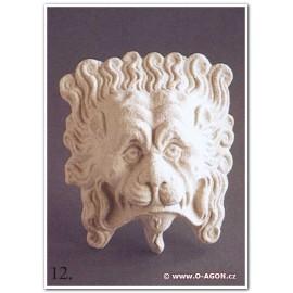 Reliéf renesance- hlava lva