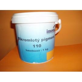 Mikromletý pigment  - SVĚTLE ČERVENÁ