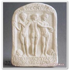 Stela - Maiandy 3 st. př. n. l.