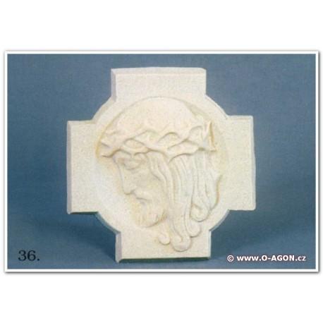 Ježíš Kristus relief