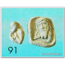 Madona relief II. (vlevo)
