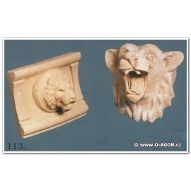 Chrlič lvíček (vlevo)