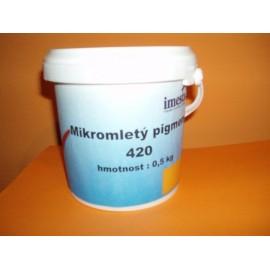 Mikromletý pigment - OKR