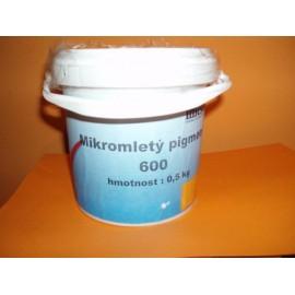 Mikromletý pigment - REZAVÁ