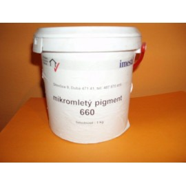 Mikromletý pigment - STŘEDNĚ HNĚDÁ